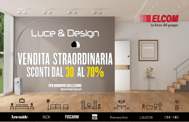Vendita straordinaria Luce&Design
